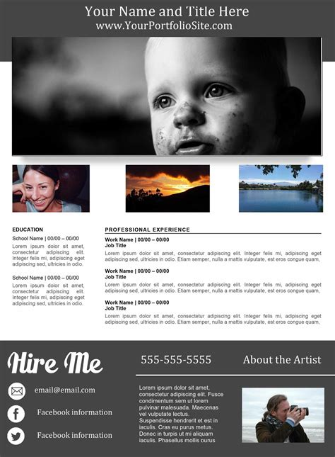 Resume D Gray by Portfolio Resume Gray Orange Resume Sellfy