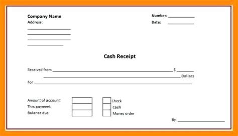 payment receipt template doc payment receipt template doc receipt template word