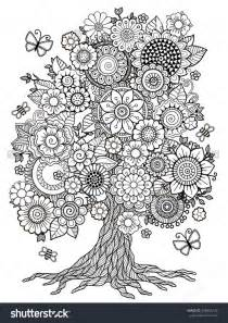 trees more coloring book books 17 best images about colouring in pages on