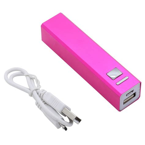 portable phone battery charger 2600mah portable backup external battery charger power
