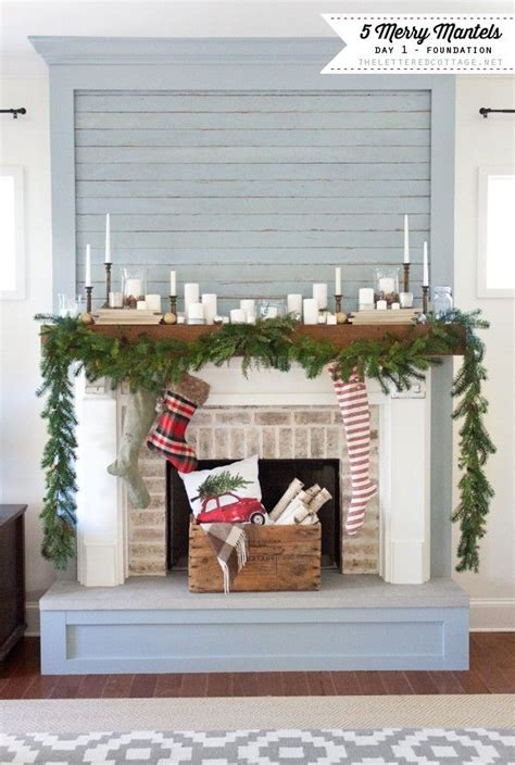 Lettered Cottage Fireplace by Merry Mantels The Lettered Cottage Series