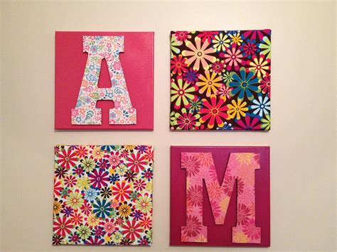 fabric crafts canvas wall hanging ideas with living unbound diy easy wall