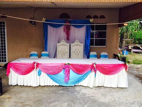 gambar meja makan beradab pengantin