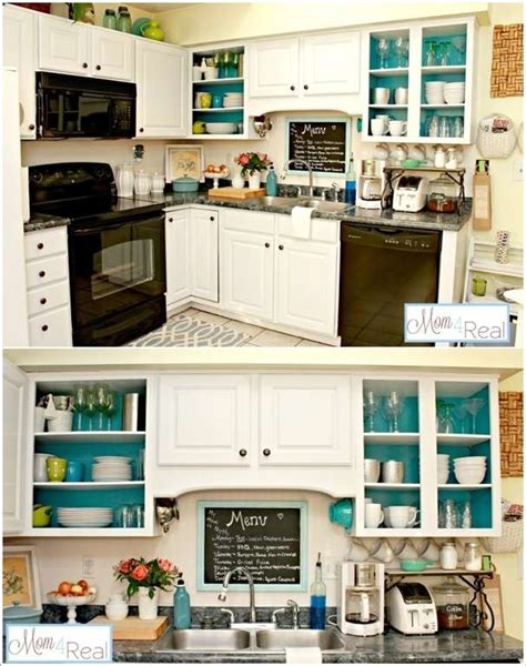 Do You Paint The Inside Of Kitchen Cabinets 10 Totally Awesome Budget Friendly Ideas To Spruce Up Your Kitchen Corner