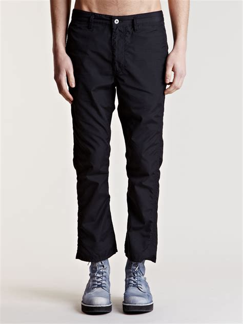 boot cut khakis for nonnative mens laborer weather cloth boot cut in