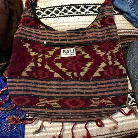 Bali Batik Bag Bag by 30 Bali Handbags Batik Print Bali Boho Hobo
