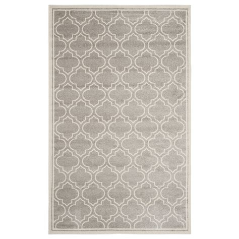 Safavieh Grey And Ivory Rug Safavieh Amt412b Amherst Light Grey And Ivory Area Rug