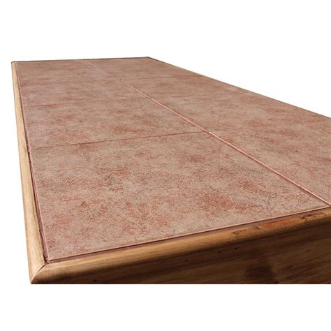 rustic pine collection cantina bar w tile top bar08