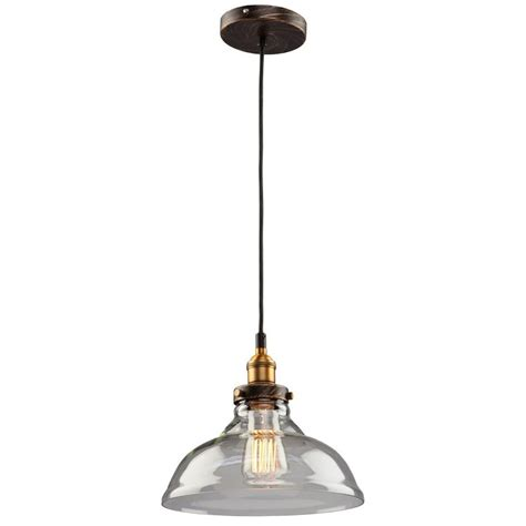 Copper Mini Pendant Lights Filament Design Merignac 1 Light Copper And Multi Tone Brown Mini Pendant Cli Acg101714 The