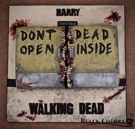Walking Dead Cake Decorations by The Walking Dead Cake Ideas