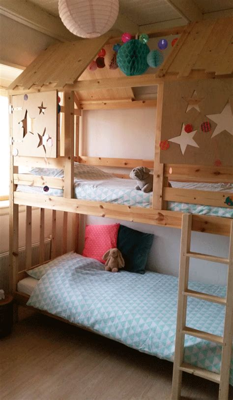 ikea bunk beds hack mommo design ikea beds hacks