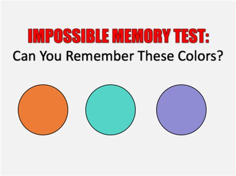 memory test can you pass the impossible memory test playbuzz