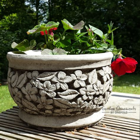 Flower Pot Ornament flower pot garden ornament planter garden ornaments by