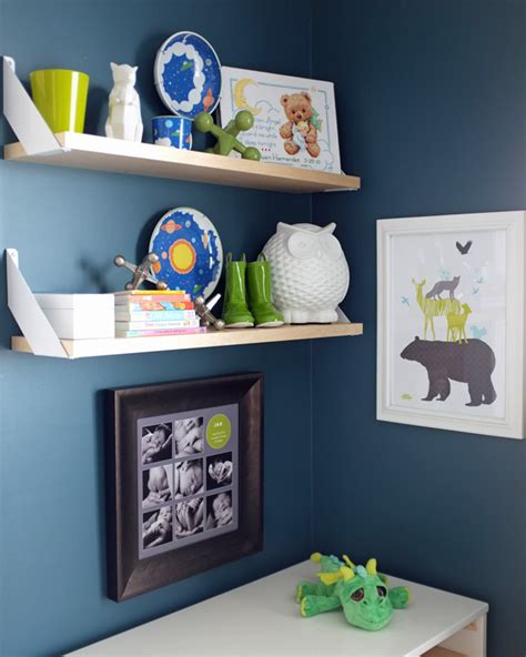 nursery shelves teal and lime by jackie hernandez