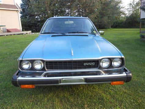 vintage honda accord honda accord hatchback 1977 blue for sale sj d2024355