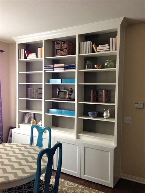 faux built in bookshelves 1000 images about faux built ins on cozy