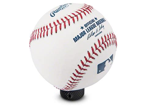 Baseball Shift Knob by Rocknob Wrangler Mlb Rawlings Baseball Shift Knob Rn U 301