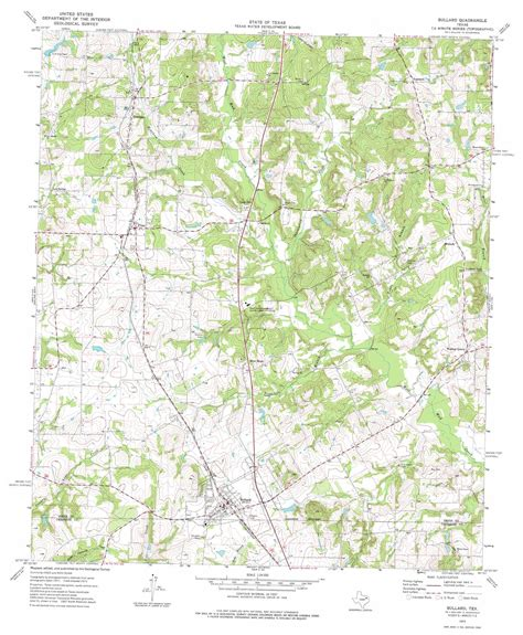 bullard texas map bullard topographic map tx usgs topo 32095b3