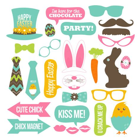 printable easter photo booth props easter photo booth props collection printable instant