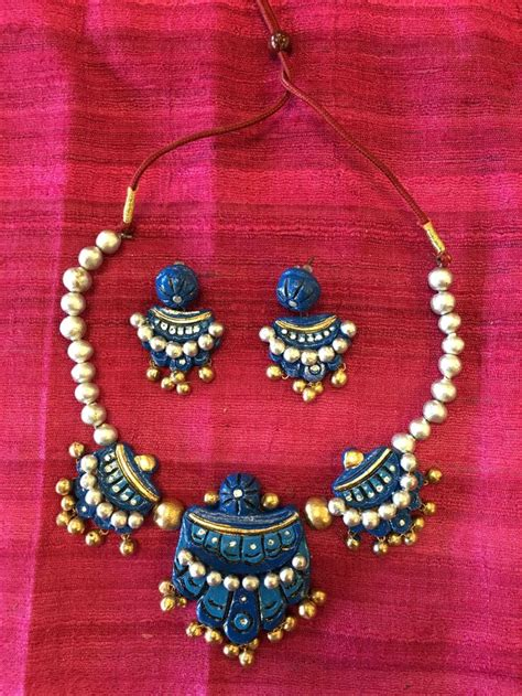 Handmade Terracotta Jewellery - 196 best images about indian jewelry on