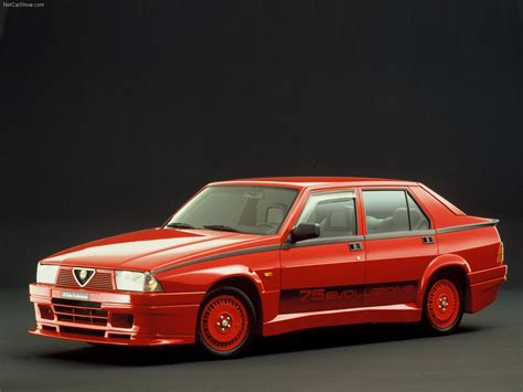 alfa romeo 75 turbo llanta13models alfa romeo 75 turbo evoluzione 1 32