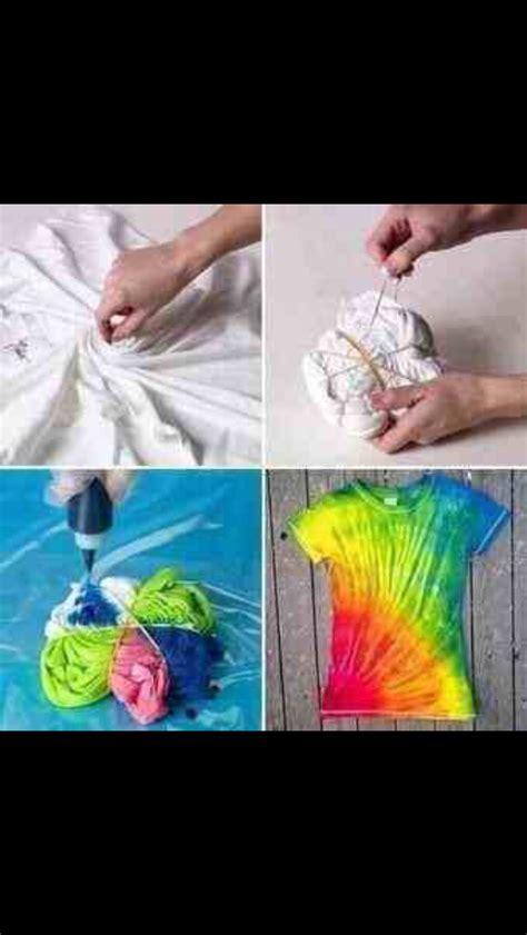 simple way to tie dye trusper