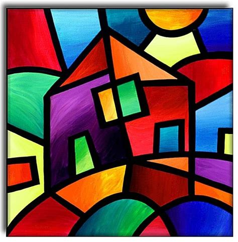 cubism definition for house in the country by amanda hone from contemporary