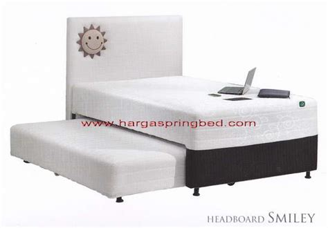 Kasur Bed No 2 Merk Central bed 2 in 1 kasur sorong springbed anak sorong