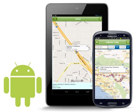 gps for android phone android gps fleet tracking apps
