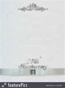 silver wedding anniversary invitations templates free 25th wedding anniversary invitations templates