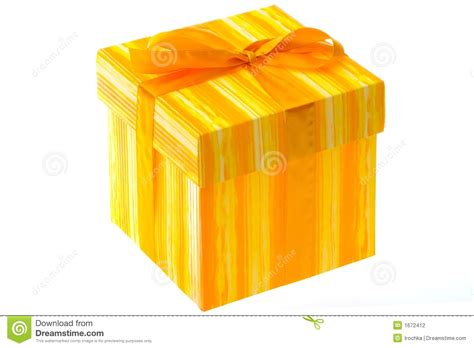 gift wrapped boxes gift wrapped box stock photo image of gold yellow wrap