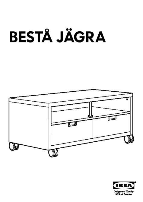 besta jagra best 197 j 196 gra meuble tv 224 roulettes blanc ikea france ikeapedia