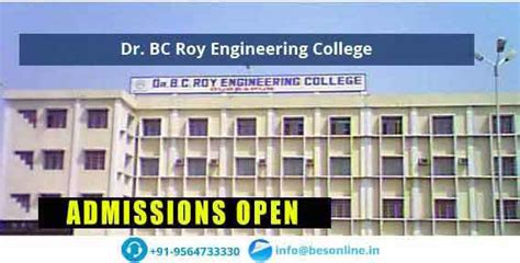 Mba Bc Roy Durgapur by Dr Bc Roy Engineering College Fees Structure