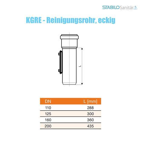 Pvc Rohr 200 Mm by Kg Pvc Rohr Reinigungsrohr Dn 200 Mm Revisionsrohr