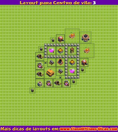 layout para cv 3 s 243 clashbr dicas para clash of clans layout para cv3
