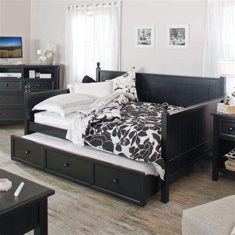 belham living casey daybed black full daybeds