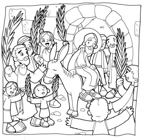 imagenes niños semana santa dibujos del domingo de ramos para colorear colorear im 225 genes
