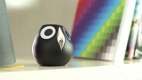 ulo is a digital pet owl surveillance camera that