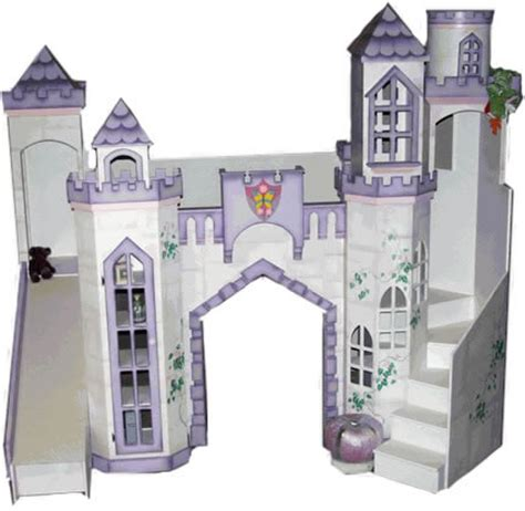 kids castle bed princess castle bed with slide home decorating ideas
