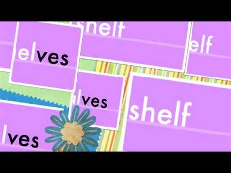Plural Word For Shelf by Ves Plurals Shelves Elves Hooves