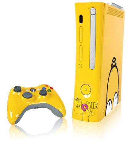 Doh On The Xbox The Simpsons Get Into Gaming by D Oh Microsoft Unveils Simpsons Themed Xbox Neowin
