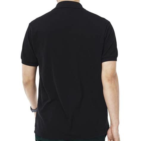 Polo Shirt Lacoste Cvc 24s Polo Premium Black By Rikli Clothing lacoste l1212 polo shirt tdf fashion
