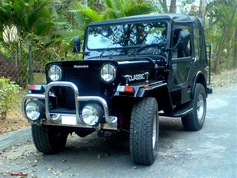 jeep modified classic 4x4 mahindra classic modified www pixshark com images