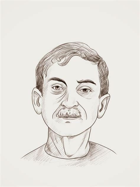 sketch in sketchbook mohd muslim portrait sketch in photoshop
