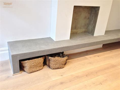 Fireplace Bench Tadelakt London