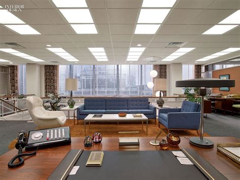 office set design welcome to 1969 mad men s award winning set design