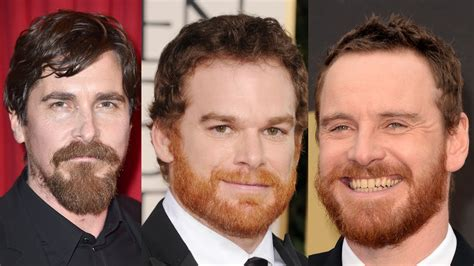 celebrity with red hair and beard here s why some men have red beards but not red hair youtube