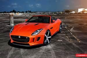 Jaguar F Type Wheels Jaguar F Type Looks On Vossen Wheels