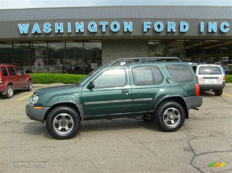 2002 alpine green metallic nissan xterra se v6 sc 4x4 30036687 gtcarlot car color galleries