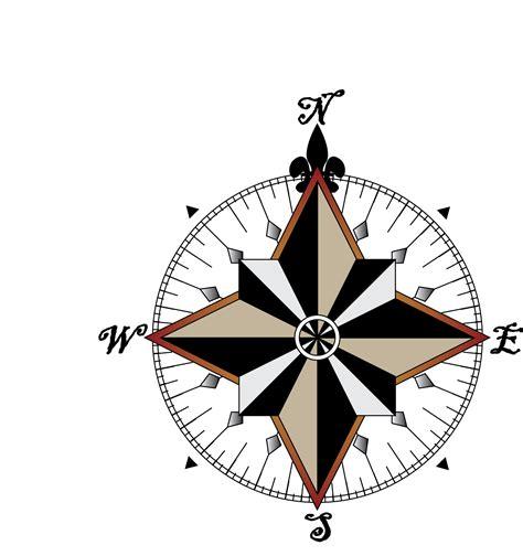 map compass map compass clipart best